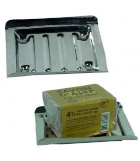 Меди ручной мыльница - Remacho никелевым покрытием - 13 см