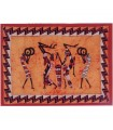 Fabric cotton Tribal-Artesana India-Musica - 140 x 210 cm