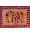 Tecido de algodão da Índia-Pastores Masai-Artesanato-140 x 210