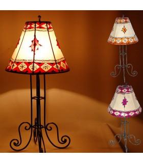 Lámpara Mesa - Piel y Henna - Varios Colores - 50 cm