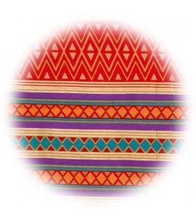 Baumwoll-Stoff - gebildet afrikanische - besondere Qualität - 210 x 140 cm