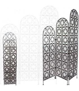 Biombo Schmieden Stall - Phasen Modell - Design Arabisch - 170 cm