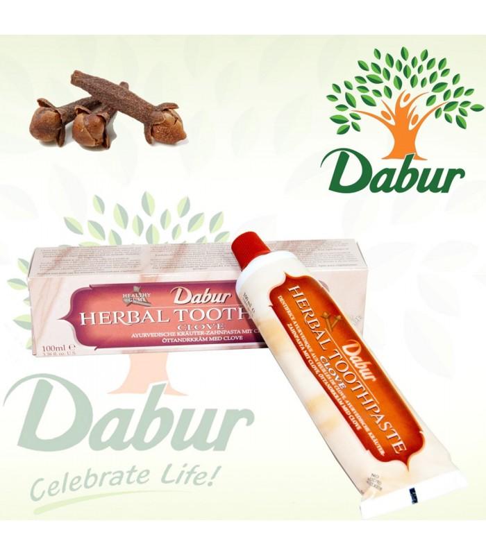Dentífrico Ayurvédico con Extracto Medicinal Clavo-100 ml- DABUR