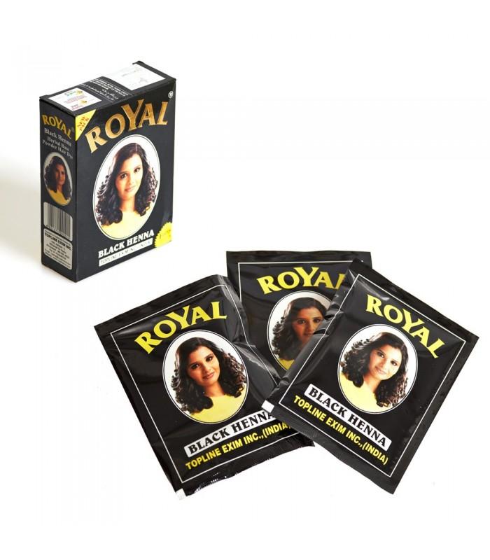 Black Henna Hair Dye - Royal - High Quality-envelope or box