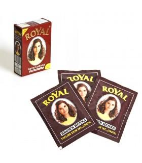 Henné tintura capelli - Royal - grande qualità - busta o scatola - 3 colori