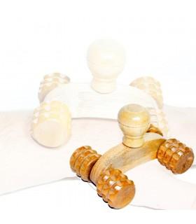 Mini massaggiatore - viaggio ideale 4 ruote - 10 cm-