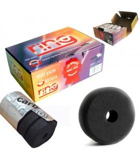 Carbón Ring - 38 mm-Instantáneo-Tubo 5 Pastillas - Vortex