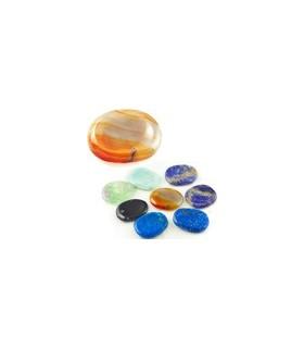 Полированный минеральных relajador - ассорти - 6 см - природный