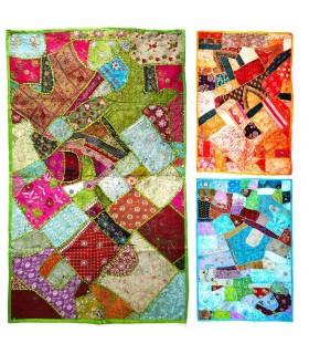 Pathwork artigianale di tappeto - 155 x 95 cm - qualità - vari colori