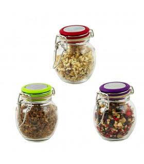 Hermetische Glas - 50 g Getreide - bevorzugt Weihrauch Boot