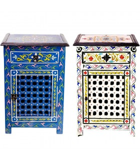 Bedside Table Al Andalus Mosaic - Hand Painted  - Several Colors