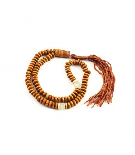 Wood Tasbih 100 balls - Wood - 25 cm - Ideal Travel