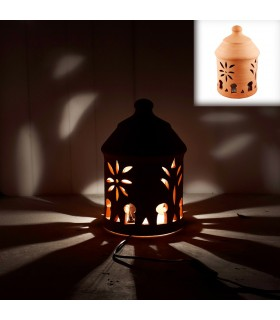 Barro Fretwork Lamp - Format sol ou de table - 22 cm