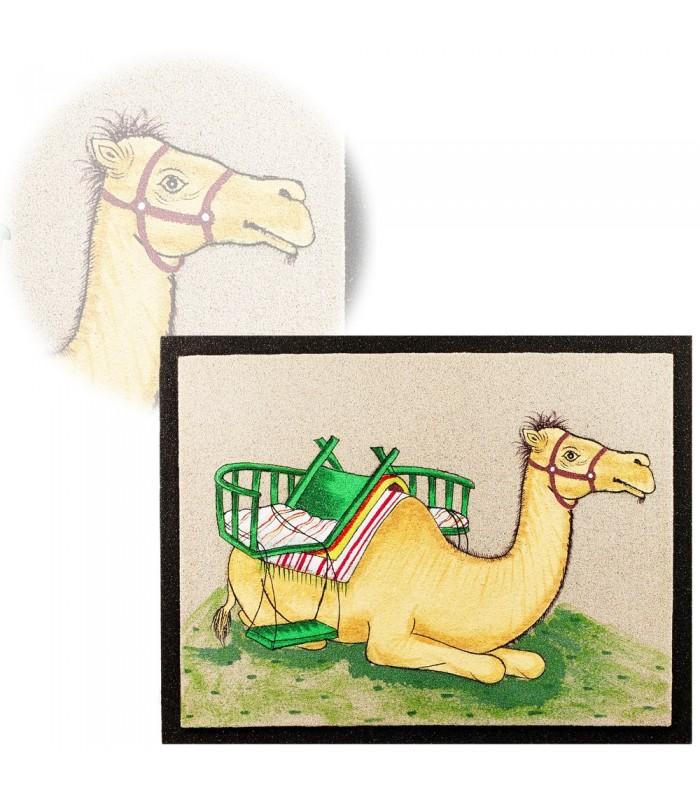 Cuadro Arena Camello - 2 Tamaños - Realizado Artesanalmente