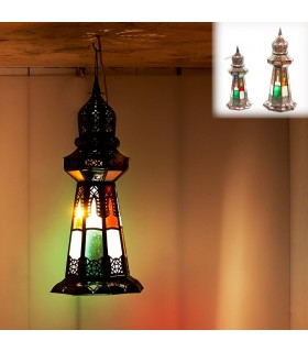 Lamp Minara - table or hang - 2 sizes - design Arabic