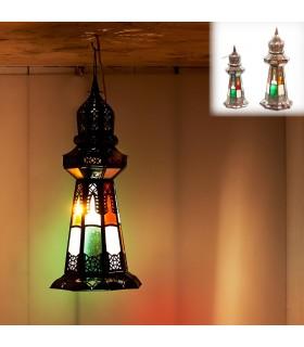 Lampada Minara - tabella o appendere - 2 formati - design arabo