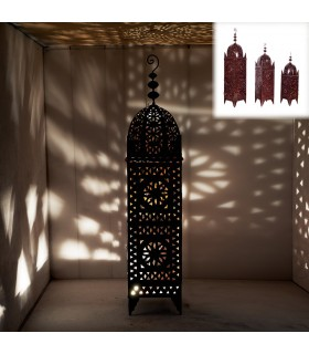 Iron lamp - openwork design - high - various sizes