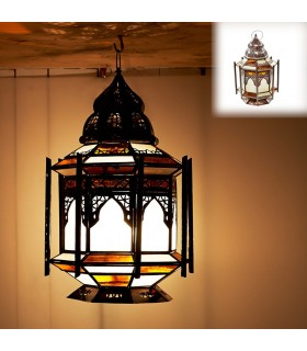 Lamp Minara Barras-Mesa or hang - 2 sizes - design Arabic