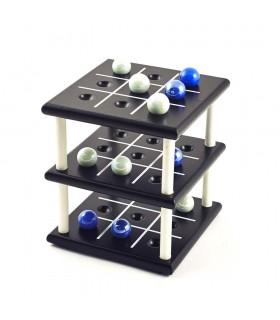Крестики-нолики 3D - хрустальные шары - 12 x 11 x 11 см
