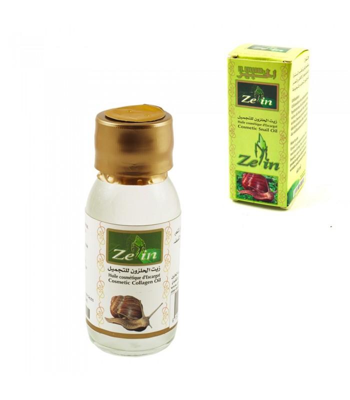 Aceite Cosmético de Caracol - 60 ml - Zein - El Khabir