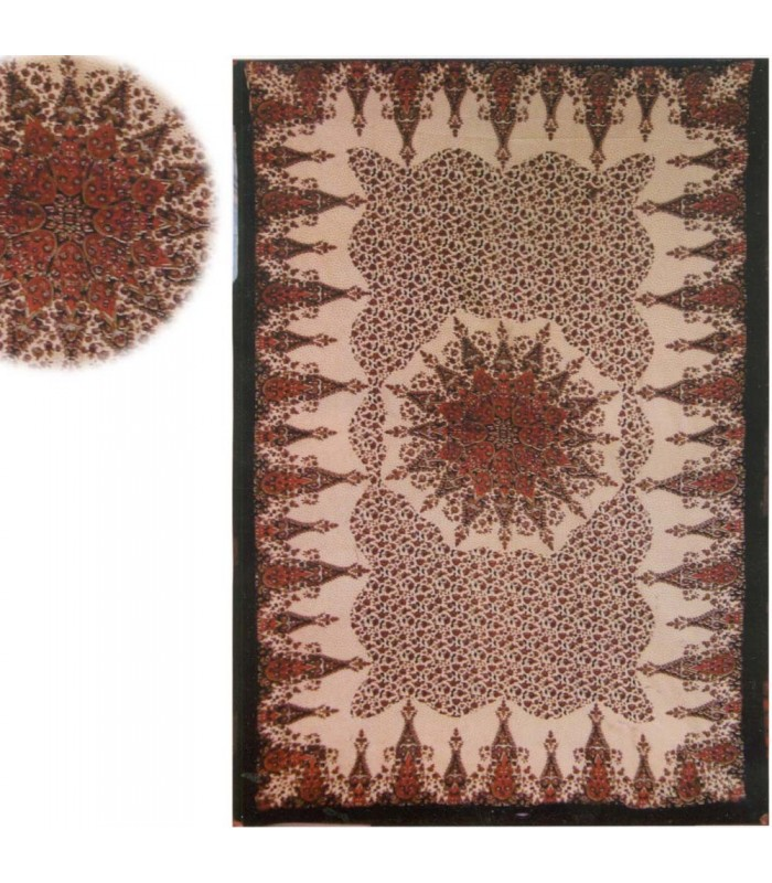 Tela Algodon India- Estrella Floral -Artesana-140 x 210 cm