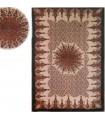 Cotton Fabric India- Floral Star -Artesana-140 x 210 cm