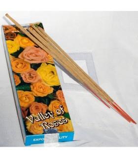 Encens de la vallée des Roses - SATYA - rose encens