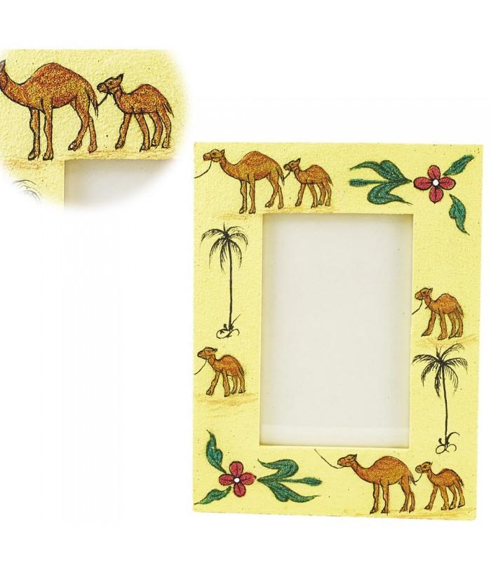 Marco Foto Arena - Diseño Camello Oasis- 22 x 17 cm