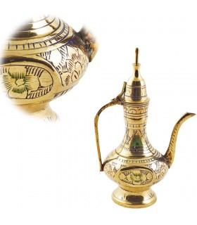 Recorded bronzit Tea Dekorative-Floral Dizajn shumëngjyrësh-15 c