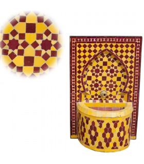 Fuente de Mosáico - Instalación - Colores - 50 cm