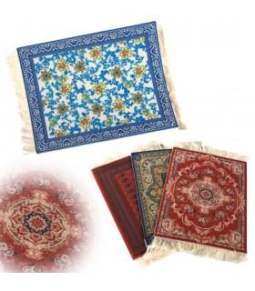 Tapestry Persian miniature - mat mouse-4 models - 26 x 18 cm