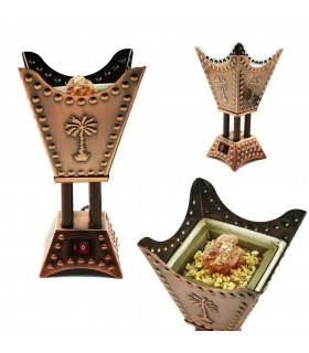 Electronic Censer - Square - Arab Design - 220 V - 15cm