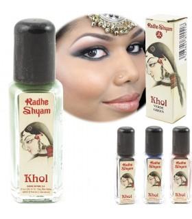 Poudre naturelle Khol - Couleurs Divers - Radhe Shyam - Haute qu