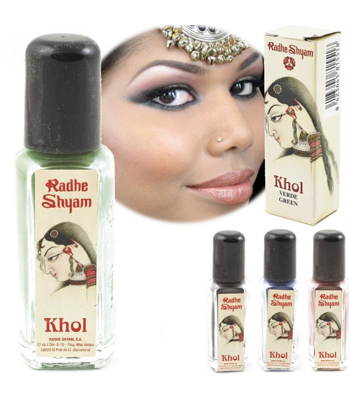 Natural Powder Khol - Various Colors - Radhe Shyam - High Qualit