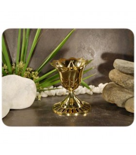 Censer Rosa - rods - bronze - draught - 9 cm
