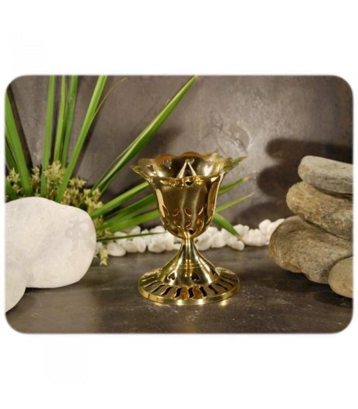 Censer Rose Haute - Bronze - Stars - 9 cm