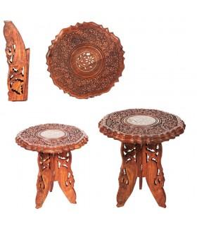 Índia de madeira pernas de mesa - 2 tamanhos - destacáveis
