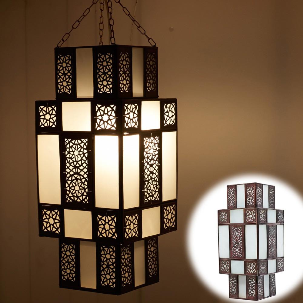 lampada araba progettazione ladies - bianco opaco - tiraggio arabo ... - Lampade Arabe Italia
