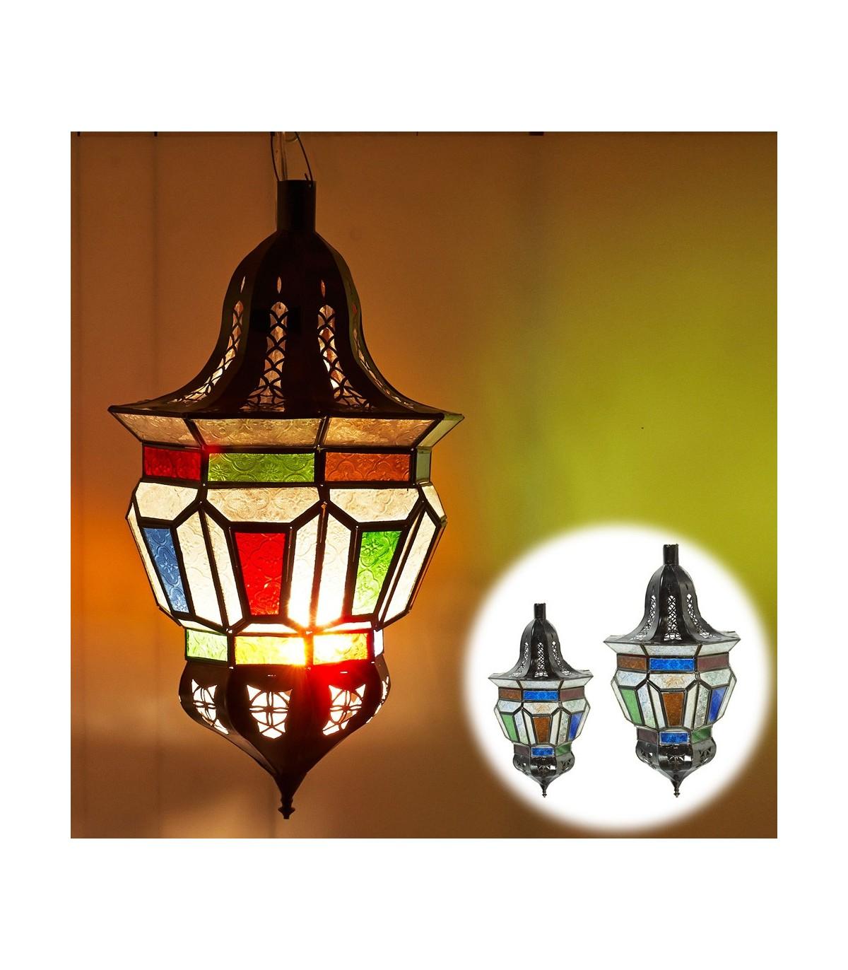 Online Cristales 2 Árabe Tamaños Lámpara Trapecio Colores OkiZuPXT