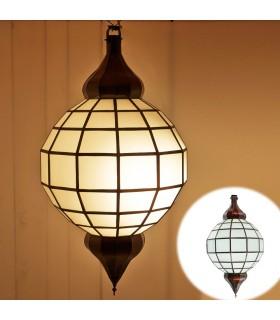 Lâmpada de Ouro Globo - Branco opaco - Andalus - 2 Tamanhos