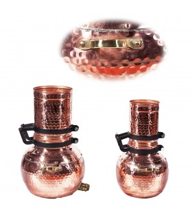 Column Copper Alembic-Craftsman-Distillation Essences and Liquor