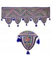 Franges Tapis décoratifs - Artisanat -100 x 35 cm-diverses coule