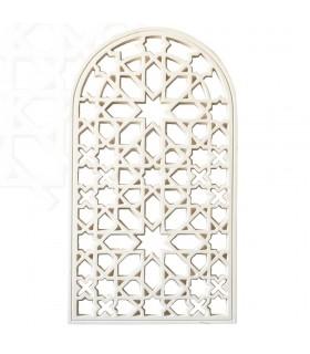 Intonaco arabo reticolo - Design Adanlusi - 112 x 63 cm