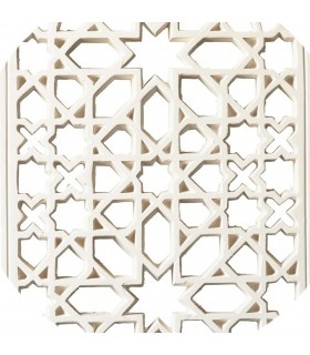 Celosía Arabe Escayola - Diseño Adanlusí - 112 x 63 cm