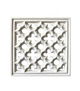 Celosía Arabe Escayola - Diseño Adanlusí - 32 x 32 cm