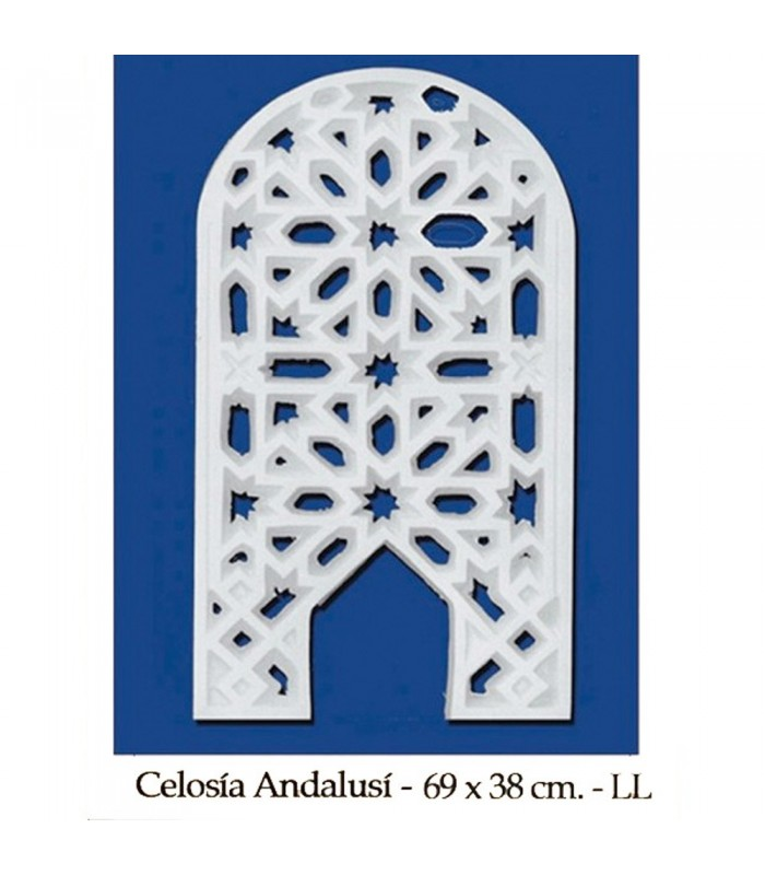 Lattice Arab Plaster - Design Adanlusí - 69 x 38 cm