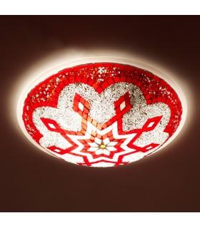 Teto Aplicar ou Turco - Murano Glass - Mosaico árabe - 30 cm