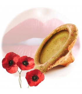 Berber Natural Lipstick - Poppy - Intense Rojo
