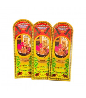 Offer 3 packages incense - Patchouli amber Jasmine - 90 rods