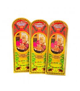 Weihrauch für 3 Pakete - Patchouli amber Jasmine - 90 Stäbe